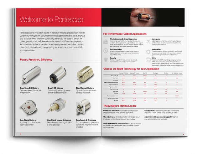 Portescap Product Catalog